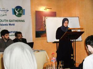 """Волонтёр фонда """"Солидарность"""" Рената Фаизова выступает на 5-ом международном съезде мусульманской молодёжи в Марокко"""
