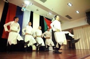 Московский ансамбль «Палестина» станцевал знаменитую арабскую дабку
