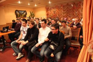 Встреча волонтеров фонда был приурочена к подведению итогов за 2010 год
