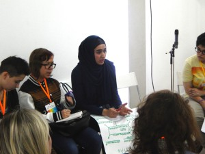 На съезде волонтеры фонда делились опытом организации добровольцев