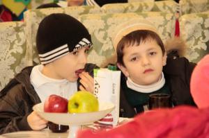 Эти дети живут в большой нужде, и редко видят счастливые дни, мы рады, что смогли подарить им радость