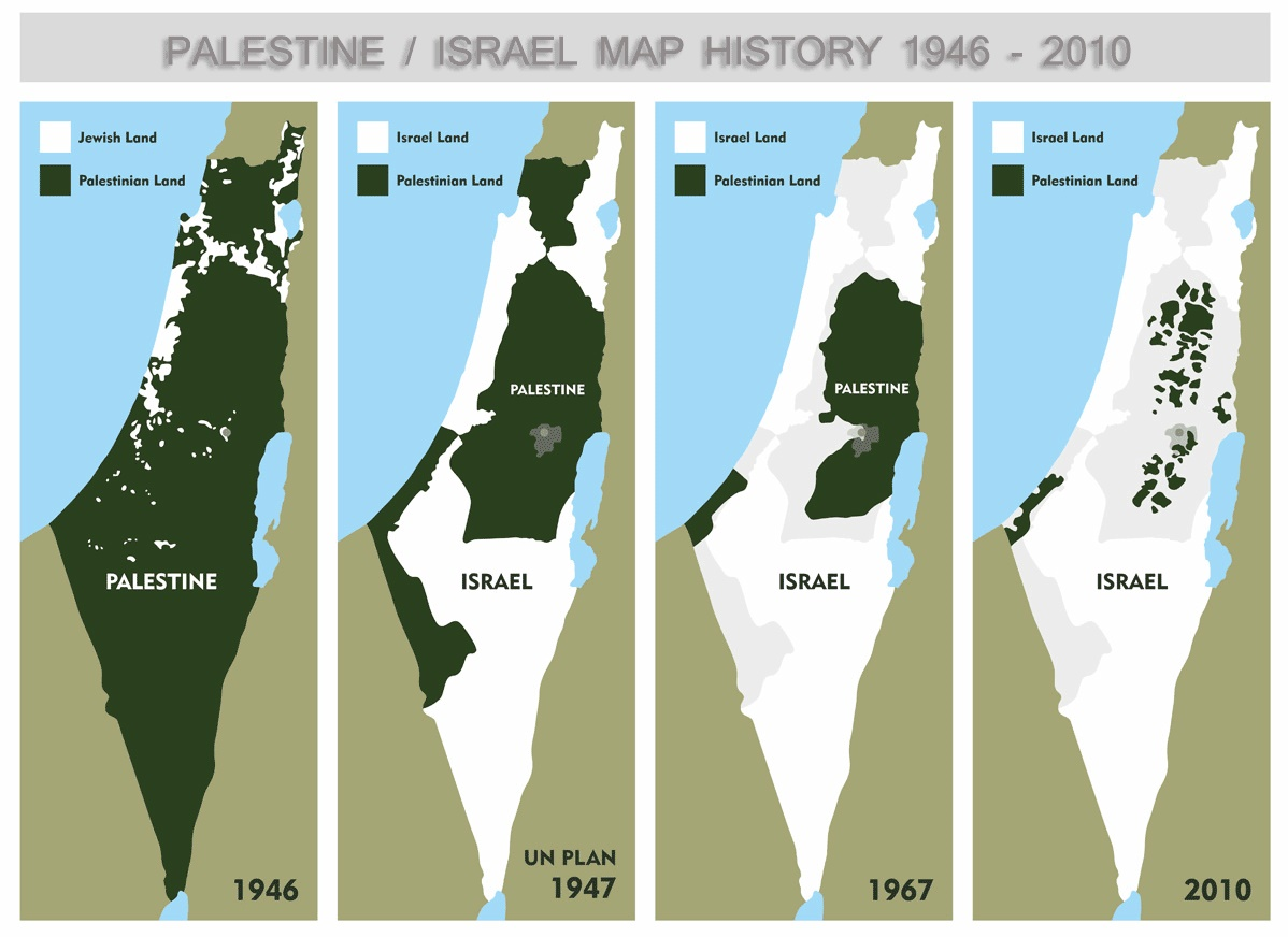 the history of palestine israeli conflict Caabu caabu israeli-palestinian conflict israel/palestine is a small area this history which incorporates the different perspectives.