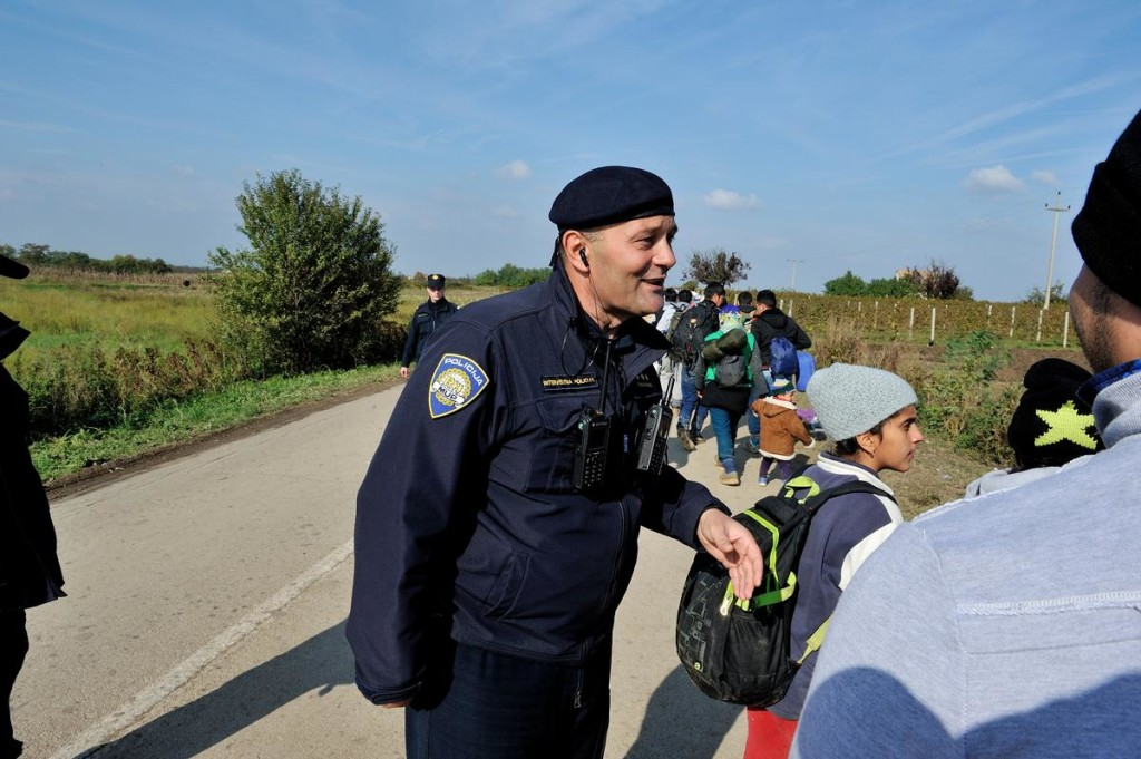 Croatia. Zoran Markovic, a police commander in charge of a team dealing with refugees, is himself a former refugee