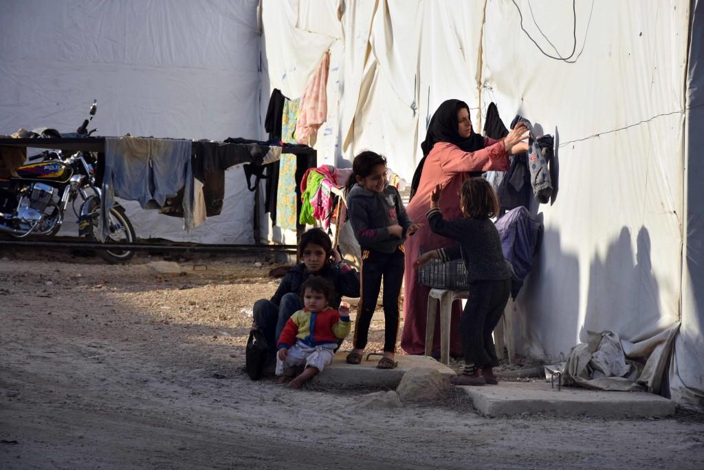 Lübnan'da yaşayan Suriyeli mültecilerin kış endişesi