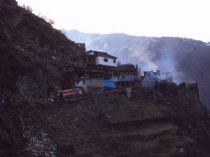 30 ноября пожар в дагестанском селении Цибари уничтожил большую часть домо